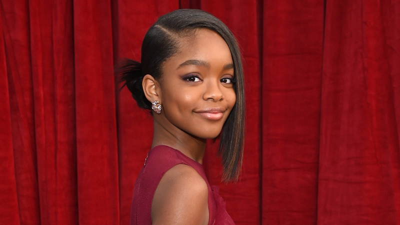 'Black-ish' Star Marsai Martin Inks Production Deal With Universal At 14 Years Old