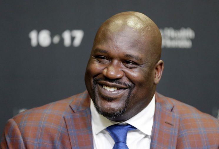 Shaquille O'Neal Gifts 10 Pairs of Shoes to Teen with Size 18 Feet