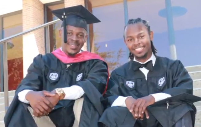 Father, 49, and Son, 23, Graduating from South Carolina State University at the Same Time