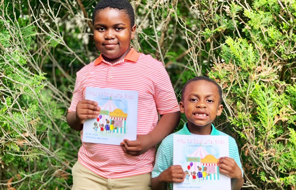 """9-Year Old and 6-Year Old Brothers Release Parenting Book Entitled """"How To Deal With Kids: A Guide For Adults By A Kid"""""""