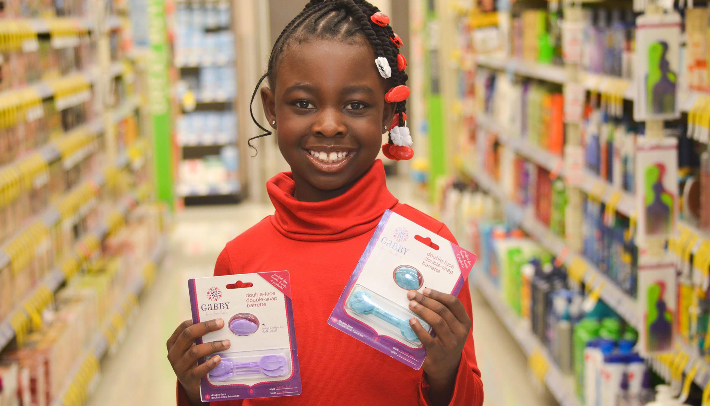 12-YEAR-OLD GABRIELLE GOODWIN LANDS A MEGA-RETAIL DEAL WITH TARGET