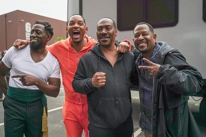 Bad Boys 3 & Coming to America 2 both filming at Tyler Perry Studios at the same time