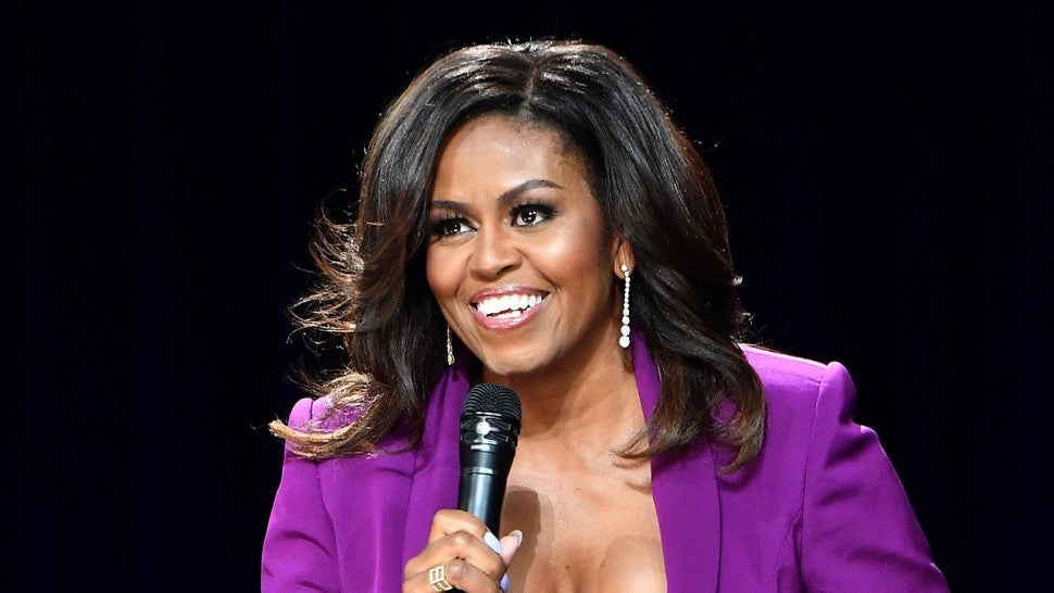 Michelle Obama Talks About Taking Sasha to College, Says 'We Didn't Want to Embarrass Her'