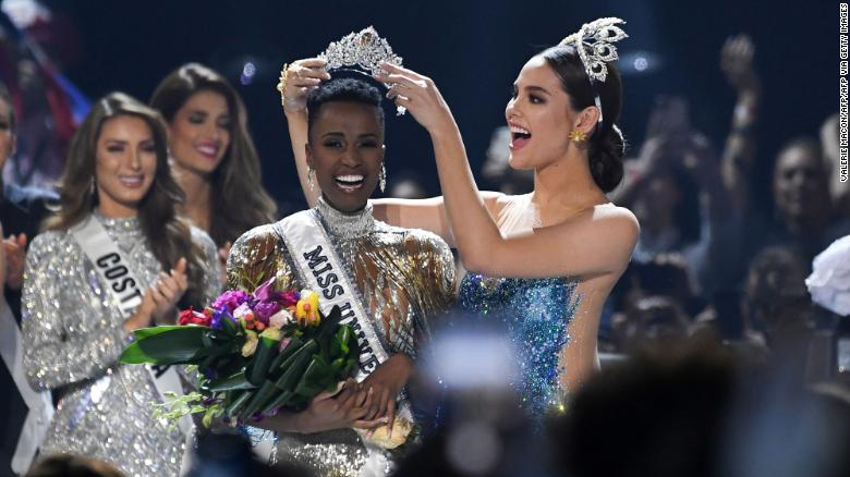 Miss USA, Miss America, Miss Teen USA and now Miss Universe are all black women