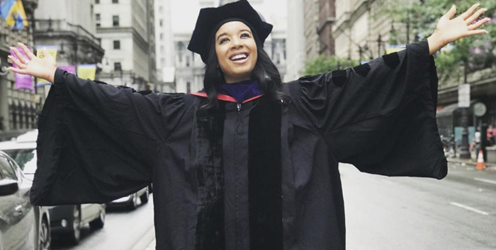 Black Woman Earns Two Degrees From Two Universities in the Same Week