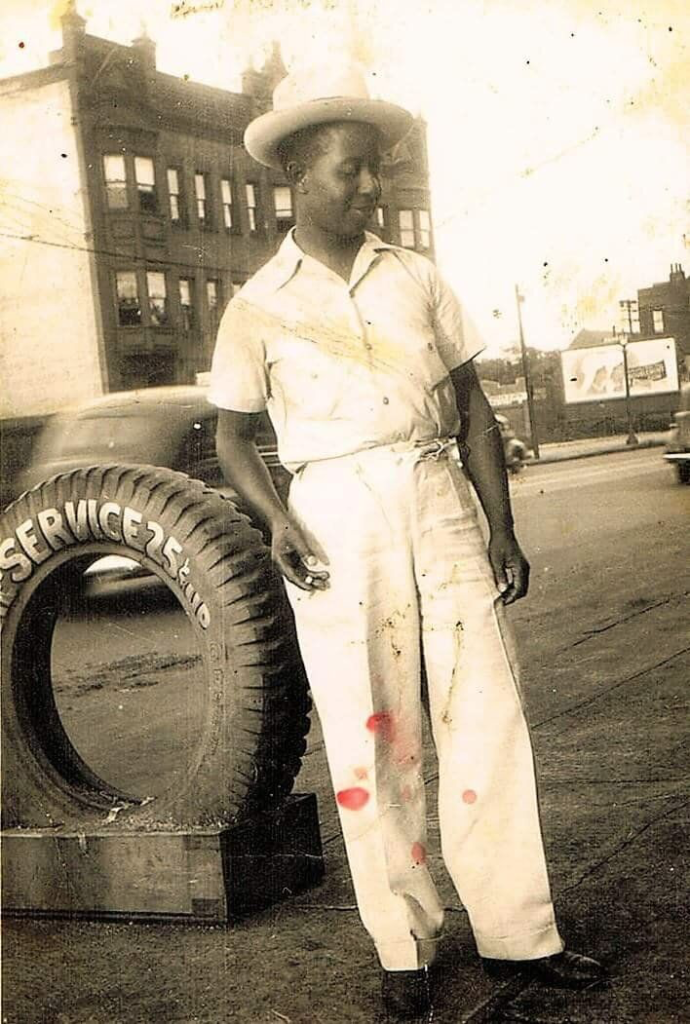 The author's great-grandfather, Booker Howze, as a young man.