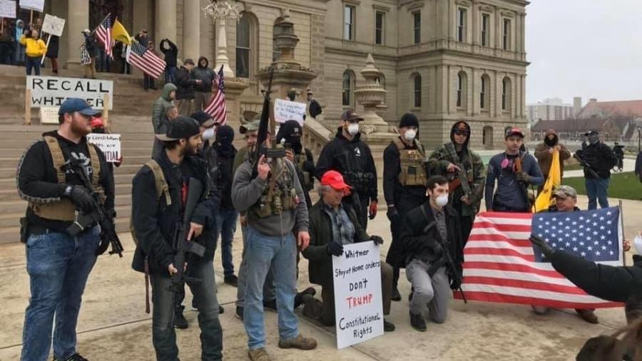 Michigan Protest Sparks Conversation About the Black Panther Party and Gun Control