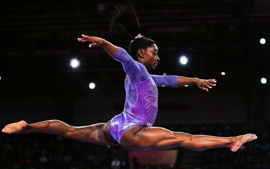 Simone Biles on Overcoming Abuse, the Postponed Olympics, and Training During a Pandemic