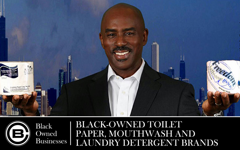 Black-Owned Toilet Paper, Mouthwash and Laundry Detergent Brands That You Should Know About